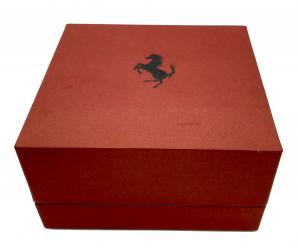 Portachiavi Ferrari in Argento Damiani