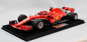 Ferrari Sf71-H Sebastian Vettel 50th Victory Canadian Gp 2018 1/18