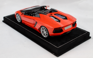 Lamborghini Aventador Roadster Arancio Argos 1/18