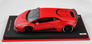 Lamborghini Huracan After Market Rosso Mars 1/18 Mr Collection