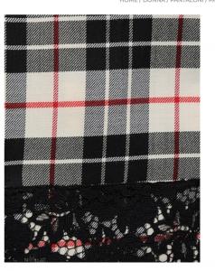 Pantalone cropped tartan - TWIN SET