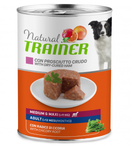 Trainer Natural - Medium\Maxi - Adult - 400g x 12 lattine