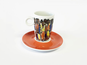 Obere espresso African People (12stck)