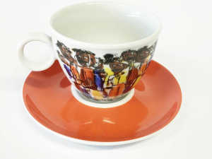 Obere cappuccino African People (6stck)