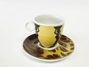 Tassen Unterteller cappuccino Sulu (6stck)