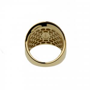 Anello Oro 18kt  Diamantato Prestige - View2