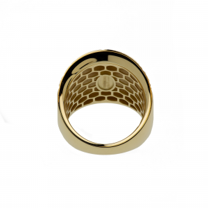 Anello Oro 18kt  Diamantato Prestige - View3 - small