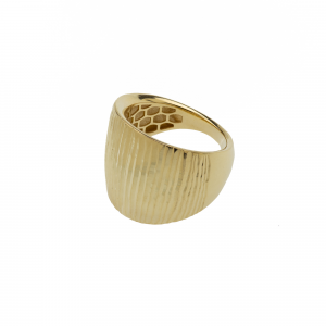 Anello Oro 18kt  Diamantato Prestige - View4 - small