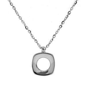 Collana Oro 18kt   Prestige con Diamante - View2 - small
