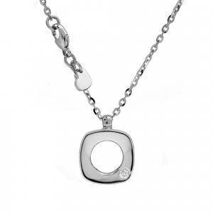 Collana Oro 18kt   Prestige con Diamante - Main view - small