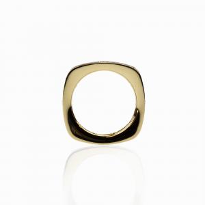 Anello Oro 18kt con Diamanti - View1