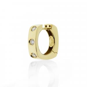 Orecchini Oro 18kt   Prestige con Diamanti - View1