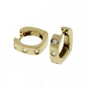 Orecchini Oro 18kt   Prestige con Diamanti - Main view - small