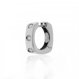 Orecchini Oro 18kt   Prestige con Diamanti - View2 - small