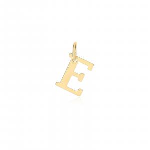 Ciondolo Oro 18kt  Lettera E - Main view - small