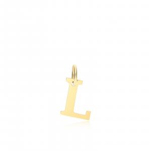 Ciondolo Oro 18kt  Lettera L - Main view - small