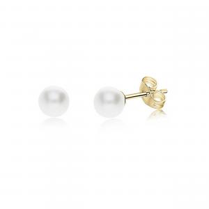 Orecchini Oro Donna con Perla - Main view
