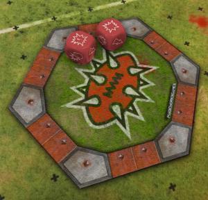 Blood Bowl 2020 Dice Coaster