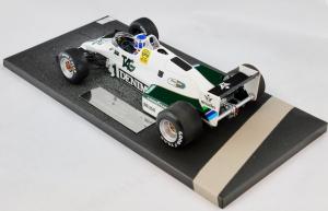 Williams Ford FW08C Keke Rosberg Winner Monaco Gp 1983 #1 1/18 Minichamps