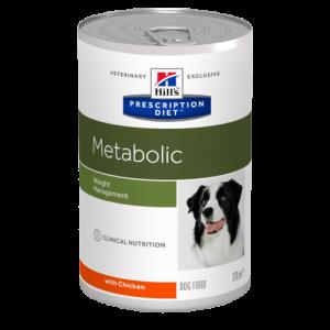 Hill's - Prescription Diet Canine - Metabolic - 370g x 24 lattine