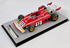 Ferrari 312 B3 Winner Spain Gp 1974 Niki Lauda 1/18 TecnoModel