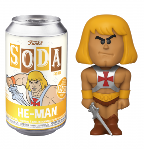 Funko Vinyl SODA Figures: Masters of the Universe HE-MAN
