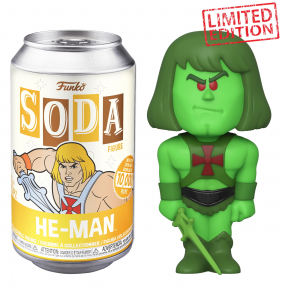 Funko Vinyl SODA Figures: Masters of the Universe SLIME PIT HE-MAN