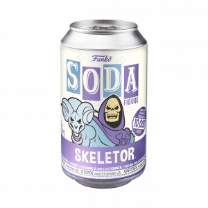 Funko Vinyl SODA Figures: Masters of the Universe SKELETOR