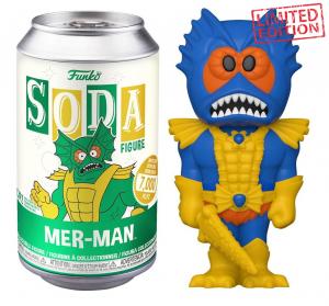 Funko Vinyl SODA Figures: Masters of the Universe MER-MAN Blu ver.