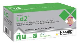 LD2 MONODOSE - INTEGRATORE A BASE DI FERMENTI LISATI PER LA FLORA INTESTINALE