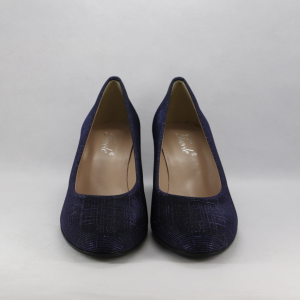 Scarpa donna elegante color blu luminoso.
