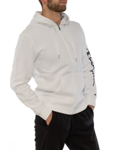 CHAMPION FELPA CON  ZIP BIG LOGO