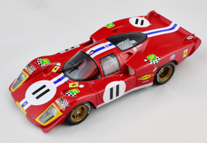 FerFerrari 512 S Long Tail Le Mans LM #11 1/18 Cmr Classic Model
