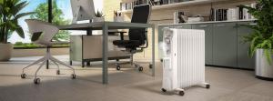 Olimpia Splendid Humi 13 Riscaldatore ambiente elettrico a olio Interno Bianco 2500 W