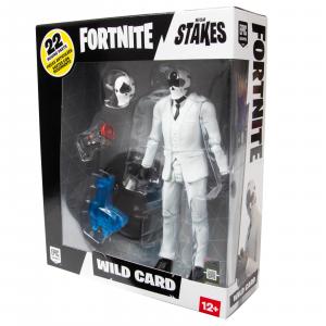 Fortnite Series Action Figures: WILD CARD (black) by McFarlane