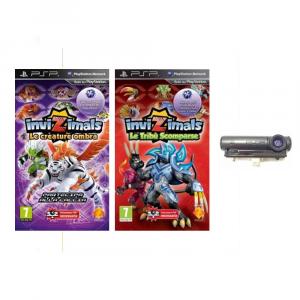 Invizimals Pack (2 Giochi) + Fotocamera PSP