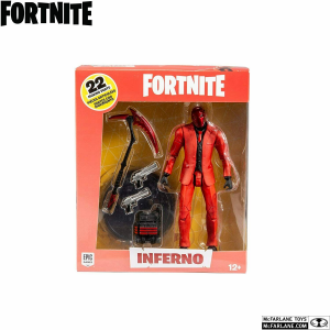 Fortnite Series Action Figures: INFERNO by McFarlane