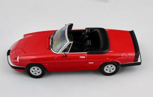Alfa Romeo Spider 3 1986 Red 1/18 Kk