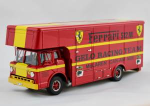 Ford C Type Transporter Can Am Race Transporter 1/43 Exoto