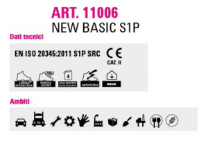 Scarpe da lavoro antinfortunistiche basse Orma New Basic 11006 S1P