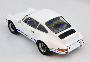 Porsche 911 Carrera Rsr 1972 White-Blue 1/18 Minichamps
