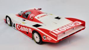 Porsche 956L Canon Lammers Palmer Lloyd 24H Lm 1983 #14 1/18 Minichamps