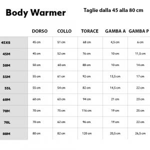 HURTTA TUTA BODY WARMER GRIGIO CARBONIO 20S-25S-25M