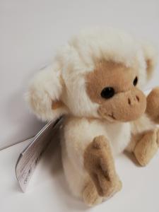 scimmia peluche 15 cm