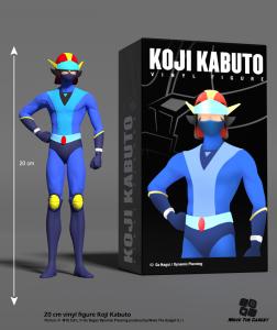 *PREORDER* KOJI KABUTO Vinyl Figure by Move the Game