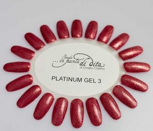 Gel color Platinum in vasetto nr. 03