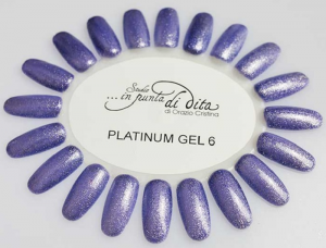Gel color Platinum in vasetto nr. 06
