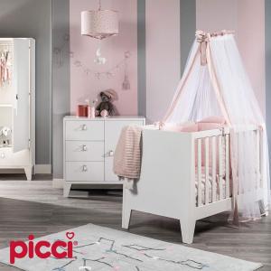 Lettino completo Astrid by Picci | Rosa