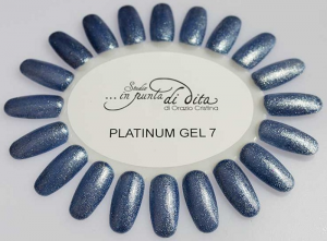 Gel color Platinum in vasetto nr. 07