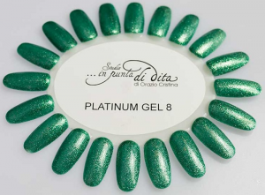 Gel color Platinum in vasetto nr. 08